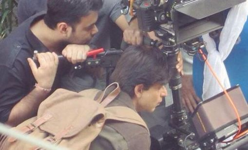 SRK fan shoot in Delhi 2