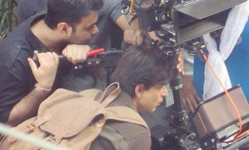 SRK fan shoot in Delhi 2